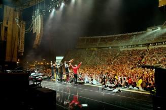 band on stage 2013 usa