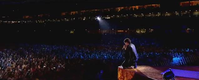 danny IYCSMN screenshot on stage crowd aviva