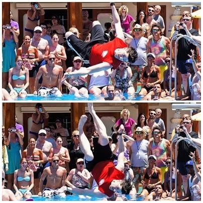 Danny's backflip on VH1 Best Cruise Ever