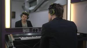 danny in studio