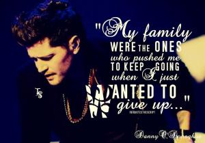 danny quote family by melinda