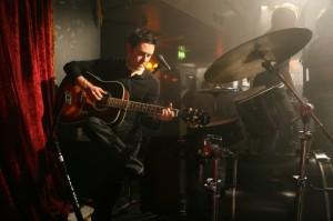 Glen with guitar 2008