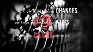 we cry she aint making changes wages cages