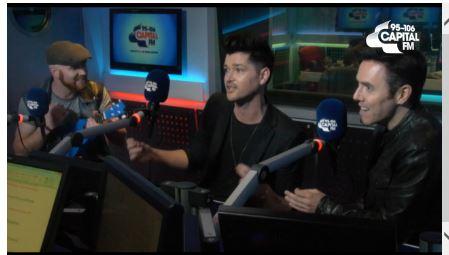 capital fm interview singing screenshot 2014 band