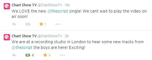 chart show tw about new single 15 july 2014