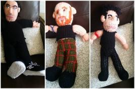 collage dolls