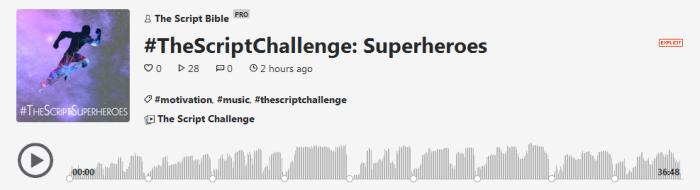 the script challenge podcast