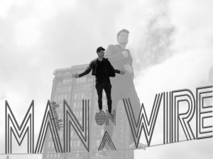 the script man on a wire edit moaw tsb bw