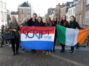 This was our first meeting. The group was still small. It was a bit awkward but at the end a really lovely day! This was in Utrecht on the first of March 2015.